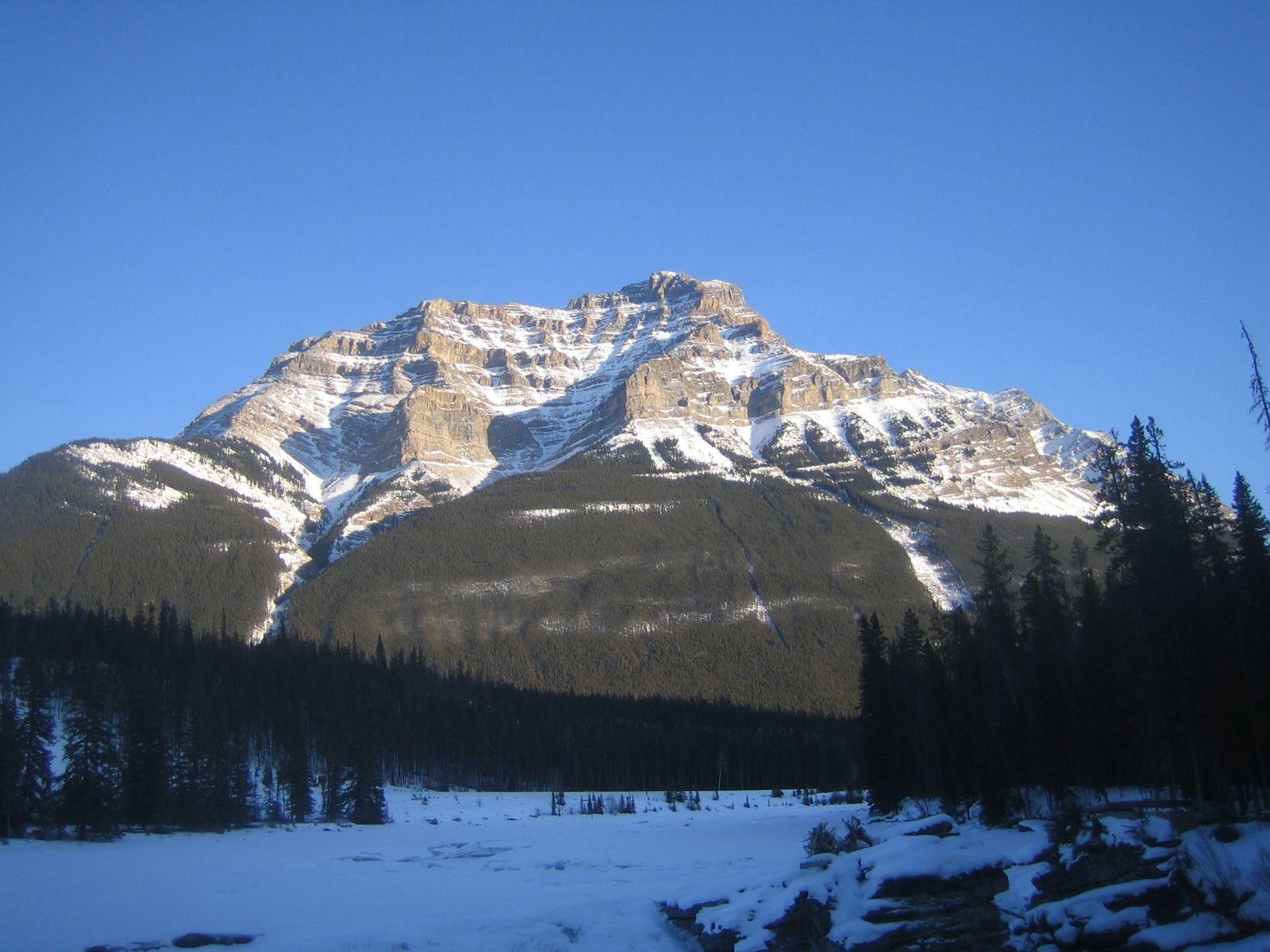 Ein bisschen Alpenglühen geht auch in den Rockies