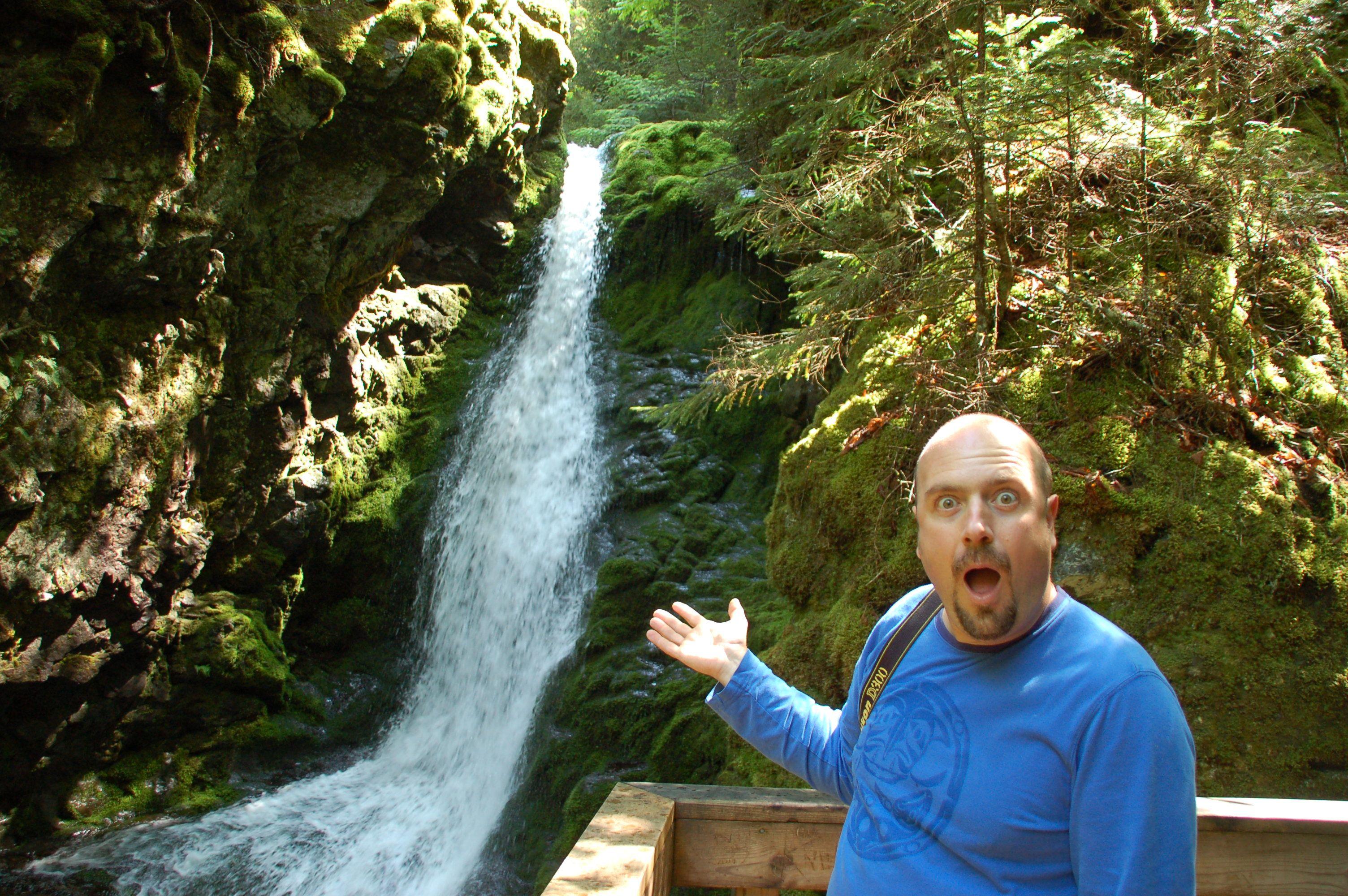 Immer für eine Überraschung gut: Yoga-Fan Ron aus Calgary